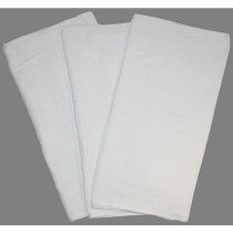 HEAVY WEIGHT TOWELS - WHITE 20 IN x 20 IN