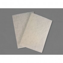 SCRUB PAD 6X9 WHITE (Pack of 10)