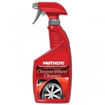 Mothers 05824 Chrome & Wire Wheel Cleaner Spray 24 oz.