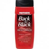 MOTHERS Back-to-Black Plastic and Trim Restorer - 12 oz.