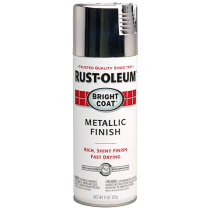 Rustoleum Bright Coat Spray Paint- Chrome