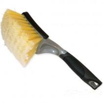Professional Super Soft Yellow Body Brush- Short Handle