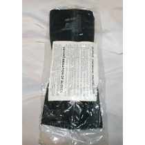 Black Chemical Protective Glove Set