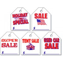 Special Event Rearview Mirror Hang Tag