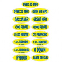 Blue & Yellow Incentive Slogans