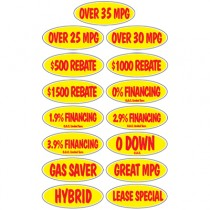 Red & Yellow Incentive Slogans