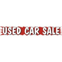 3' x 20' Burst Banners-Used Car Sale