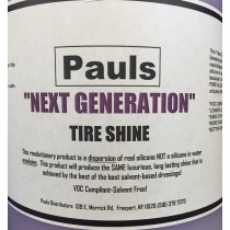 PAUL'S NEXT GENERATION TIRE SHINE 5 GAL