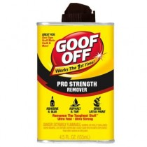 Goof Off Professional Strength Remover 4.5 fl. oz