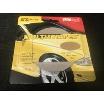 "TrimBrite Multistripes T0609 Beige 3/16"" x 36' Thin & Thin"