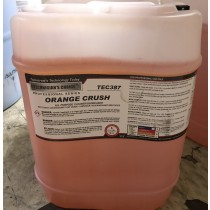 TEC387 Orange Crush All Purpose Cleaner-5gal