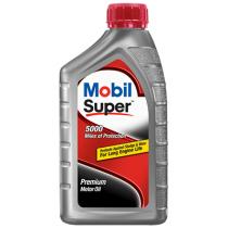 Mobil  Super 5000 10W-40 Motor Oil