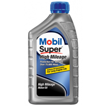 Mobil Super High Mileage 10W-40 Motor Oil