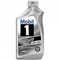 Mobil 1 Synthetic 5W-20 Motor Oil