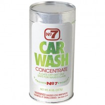 No. 7 Car & Truck Wash Concentrate 8 oz.