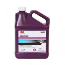 3M Perfect-It EX Rubbing Compound, Gallon, 36061