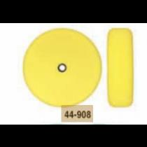 """8"""" Speedy Foam Flat Foam Double Sided Compounding Pad- Yellow"""