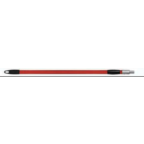 Red & Black Threaded Extendable Pole