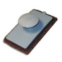 Coarse Knob Style Scrub Pad-Brown