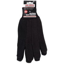 Tool Bench Brown Jersey Work Gloves