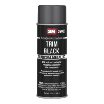 Trim Black Charcoal Metallic - 39033