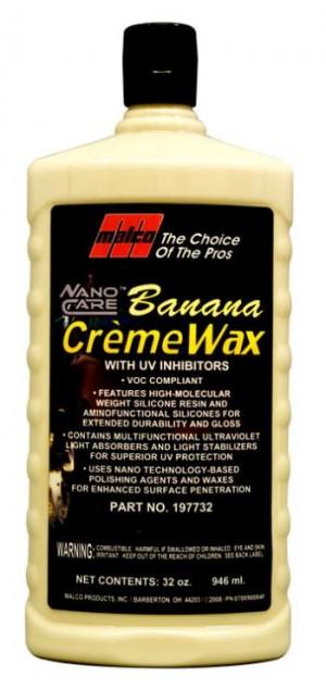 Nano Care Banana Creme Wax 32 oz.