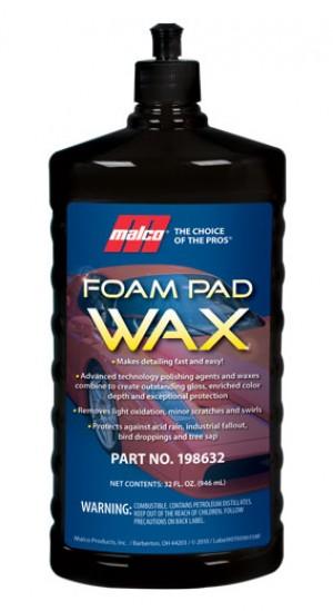 Foam Pad Wax Gal.