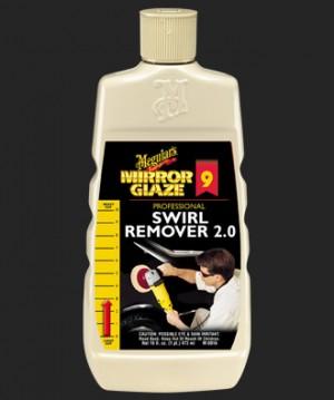 MEGUIAR'S  Mirror Glaze Swirl Remover, 16 oz