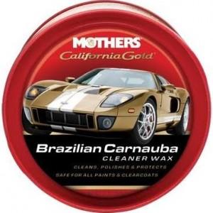 Mothers California Gold Brazilian Carnauba Cleaner Wax Paste