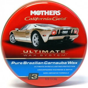 Mothers California Gold Pure Carnauba Paste Wax 12 oz.