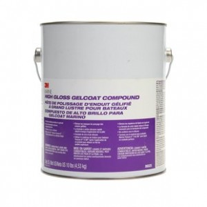 3M 06025 Marine High Gloss Gelcoat Compound