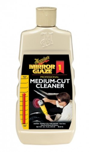 Meguiar's Medium Cut Cleaner-16 Oz.