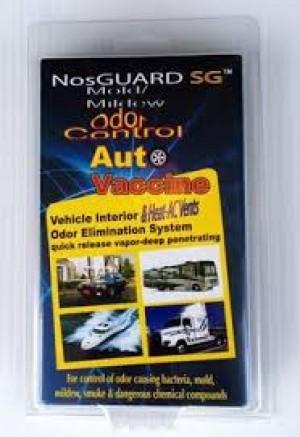 Auto Vaccine NosGuard SG Mold/Midlew Odor Control Fast Release
