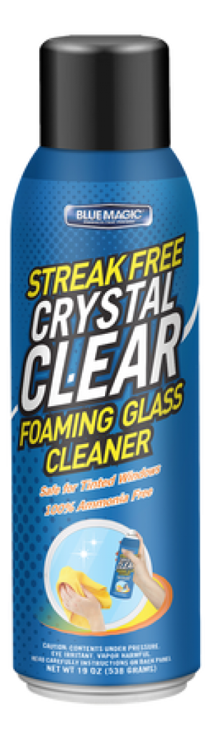 Crystal Clear Foaming Glass Cleaner (Case of 12)