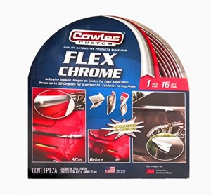 "Cowles Custom Flex Chrome 1"" x 16'"