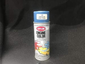 Krylon Chrysler Blue Engine Paint
