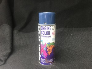 Sparvar Chevrolet Blue Engine Color Paint