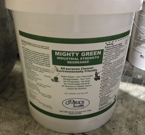 Mighty Green Industrial Strength Degreaser 5Gal