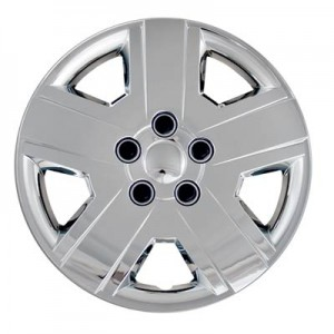 "Wheel Covers: Premier Series: 438 Chrome or SIlver (16"")"