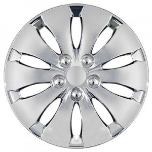 "Wheel Covers: Premier Series: 439 Chrome or SIlver (16"")"