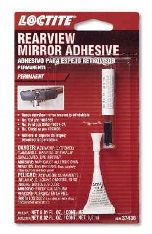 Loctite Interior Rear View Mirror Adhesive .01 oz