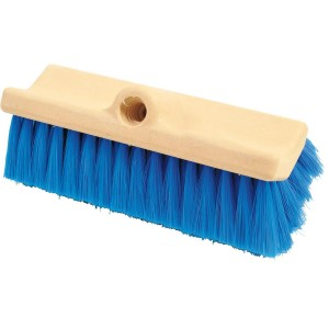 Magnolia Bi-Level Scrub Poly Brush Blue