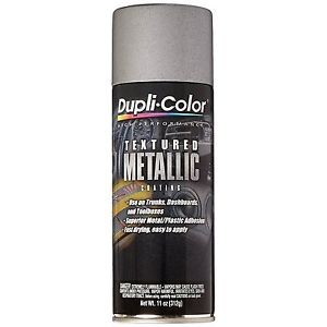 Duplicolor High Performance Textured Metallic Coating Silver Metallic