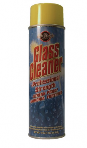 GLASS CLEANER - AMMONIA FORTIFIED 18OZ