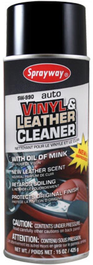 Sprayway Vinyl Leather Cleaner (16oz)