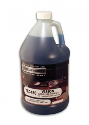 TEC480 Vision Glass Cleaner RTU (5Gallon)